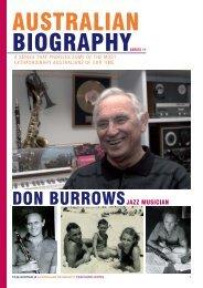 DON BURROWS