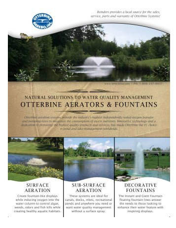 Aeration Systems - Reinders.com