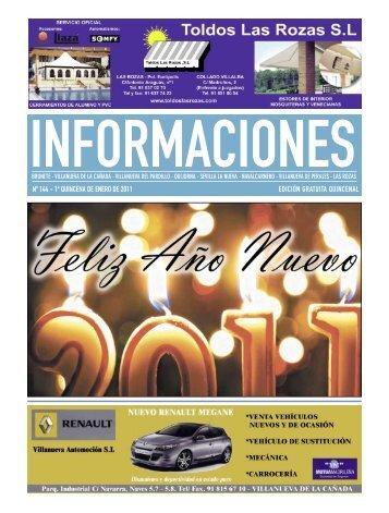 nº 144 - 1ª quincena de enero de 2011 edición gratuita quincenal