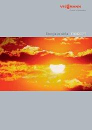 Energia zo slnka  - Viessmann