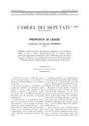 Proposta di legge n. XVI/3435 - Federazione Esperantista Italiana
