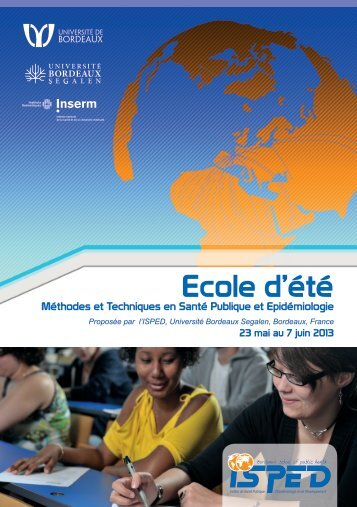 Télécharger la brochure - Université Bordeaux Segalen