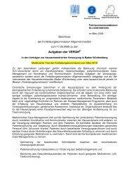 Aufgaben der VERAH - Deutscher Hausärzteverband ...