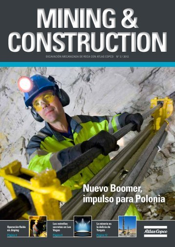 Nuevo Boomer, impulso para Polonia - Atlas Copco