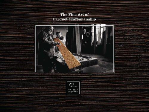 The Fine Art of Parquet Craftsmanship - Der Onlinekatalog