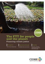 The FTT for people and the planet - KOO