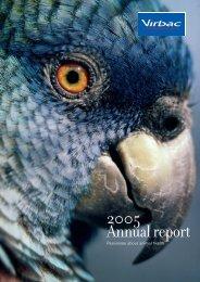 Annual financial report - Virbac