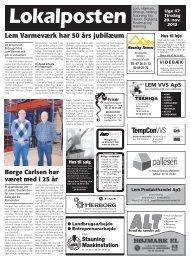 Lokalposten - UgeAviserne