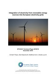 Integration of electricity from renewable energy sources into ...