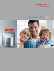 Heating with Oil - Viessmann