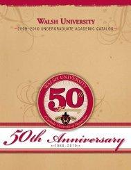 50th Anniversary - Walsh University