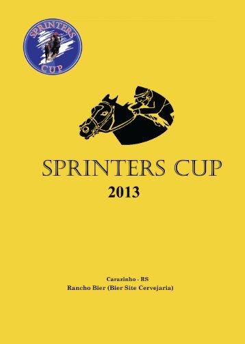 TBS: Leilão Sprinters Cup - Raia Leve