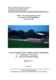 Report 7 Egypt's Irrigation Improvement Program - LIFE-IWRMII ...