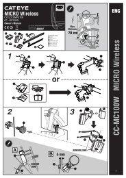 CC-MC100W MICRO Wireless or - Cateye