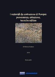 I materiali da costruzione di Pompei - Vesuvioweb