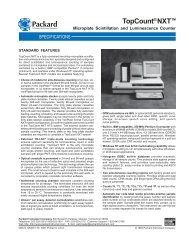 TopCount NXT: Microplate Scintilation and ... - PerkinElmer