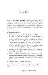 Stone Soup (PDF, 13 pages)