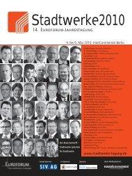 Stadtwerke 2010 - FACTUR