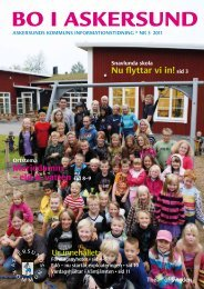 Bo i Askersund nr 3 2011.pdf - Bild & Kultur