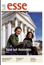 Esse 40/2012 (pdf) - Espoon seurakuntasanomat