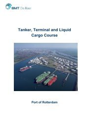 Tanker, Terminal and Liquid Cargo Course - BMT Group