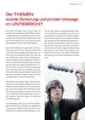Soziale Sicherung & private Vorsorge - Universum Verlag - Seite 3