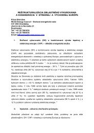 restructuring of district heating and co-generation in central and ...