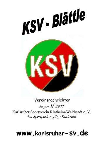 Frühling 2011 - Karlsruher SV