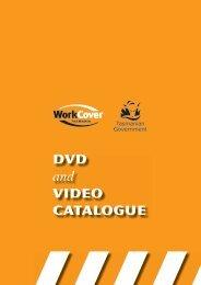 DVD Catalogue - Workplace Standards | Tasmania