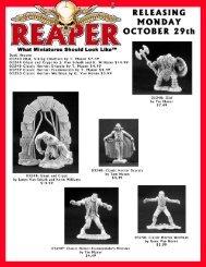 10-28-07 Mailer - Reaper Miniatures