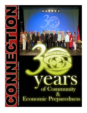 September 2010 - McNairy County Chamber of Commerce