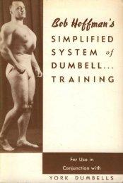Kobfloffman'd SIMPLIFIED SYSTEM of - Eugen Sandow & The ...