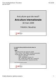 Aviculture internationale - Aviforum