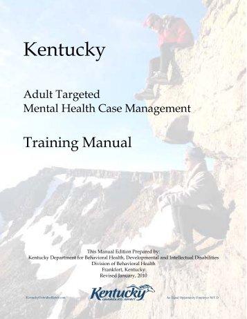 case management training manual pdf