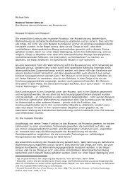 Michael Fehr Museale Prozedur und Museum Die wesentliche ...