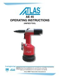 AE 45 OpErAting instructiOns