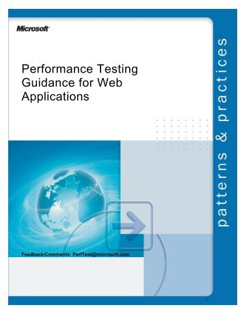 Performance Testing Guidance for Web Applications: Guide - UKCMG