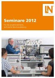 Seminare 2012 - Lucas-Nülle Lehr