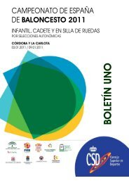BOLETIN 1 - Federación Andaluza de Baloncesto