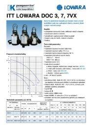 Prospekt DOC (PDF 330kB) - LK Pumpservice