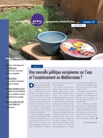 PdF (1 210 ko) - Programme Solidarité Eau