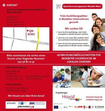 zum DOWNLOADEN - Hayat Werbeagentur Berlin-Neukölln