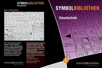 SYMBOLBIBLIOTHEK Haustechnik