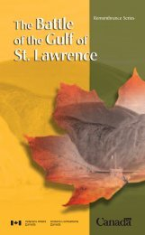 The Battle of the Gulf of St. Lawrence - Veterans Affairs Canada