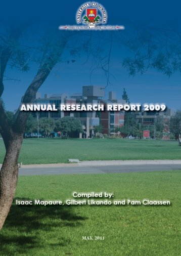 80 free magazines from unam annual research report 2009 university of namibia altavistaventures Image collections