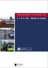 Verkehrskonzept Vorarlberg 2006