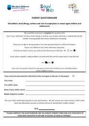 Download Parent Questionnaire