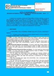 1 EDITAL Nº 032/DIE/PMSC/2013 SELEÇÃO DE PESSOAL PARA O ...