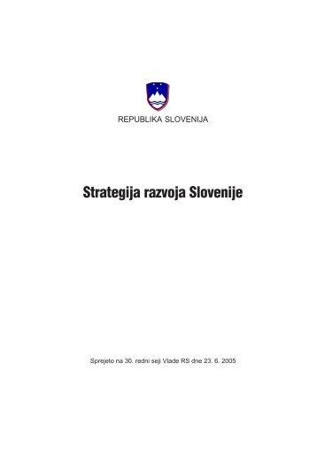 Strategija razvoja Slovenije