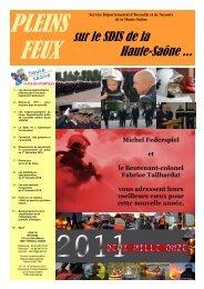 pleins feux n°37, 4e trim 2010 - Service Départemental d'Incendie et ...